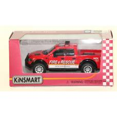 "KINSMART Мет. машина ""Ford F-150 SVT Raptor SuperСrew Police"""