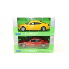 """WELLY   Мет. машина """"DODGE 2006 CHARGER""""   1:24"""