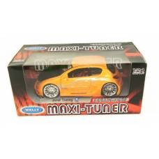 "WELLY   Мет. машина ""PEUGEOT 206 Tuning""  1:24"