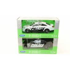 "WELLY   Мет. машина ""FORD POLICE INTERCEPTOR""   1:24"